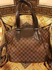 LOUIS VUITTON Damier Ebene Verona Large GM Shoulder Tote Shoulder Bag VI0170