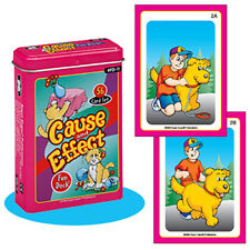 Cause & Effect Flash Cards Fun Deck Vocabulary Super Duper Predict Early Reader