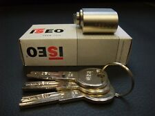 Scandinavian oval lock cylinder ISEO R6 3 keys 6 pin Assa Ruko Dorma analog