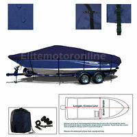 Crownline Boats 225 SS BR Bowrider I/O Trailerable Boat Cover Navy