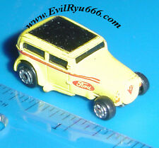 Micro Machines FORD 32 CHOPPED CUSTOM YELLOW CAR Galoob