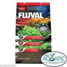 Premium Japan FLUVAL STRATUM 2KG Volcanic Soil for Plant, Shrimp & Fish Aquarium