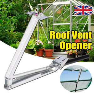 Greenhouse Window Opener Double Spring Temperature Automatic Vent Control Opener