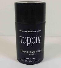 TOPPIK INSTANT HAIR BUIDLING FIBERS (12g) -  BLACK