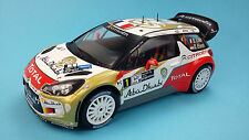 Car Rallye Citroën DS3 WRC 2013 S.Loeb 1/18  Diecast Model New & box