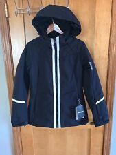 NWT Karbon Womens Dove Insulated Ski Jacket - Black / Arctic White - size 8