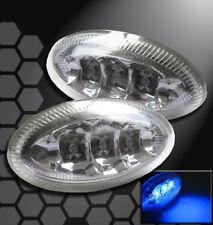 UNIVERSAL LED OVAL SIDE MARKER LIGHTS LAMPS CHROME SENTRA XTERRA GRAND PRIX RAV4