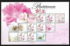 China 2013-6 Peach Flower Special S/S Peach Blossom 桃花