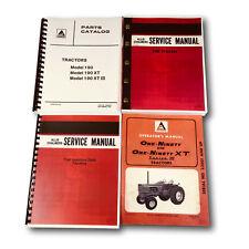 ALLIS CHALMERS 190 190XT SERIES III TRACTOR SERVICE PARTS OPERATORS MANUAL SET