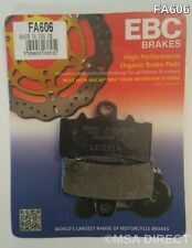 KTM Duke 125 / 200 / 390 (2011 to 2015) EBC Organic FRONT Brake Pads (FA606)