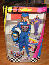50th Anniversary, Nascar Barbie Collector Edition (by Mattel, 20442) 1998