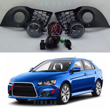 Fog Light Lamps & Harness Switch Kit fit for Mitsubishi Lancer 2010-2015