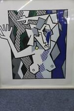 "Roy Lichtenstein - Very Rare L/E of 50, Woodcut ""Nude in the Woods"", Hand-signed"