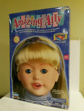 Amazing Ally Playmates 1999 issued doll w accessories original box talking