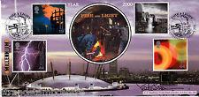 2000 Fire & Light-Bradbury UFFICIALE-firmata da newsreader Peter Sissons