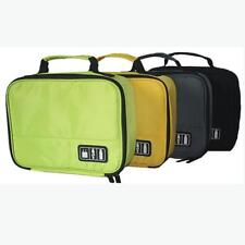 Digital USB Earphone Gadget Storage Case Bag Travel Kit Pouch Cable Organizer KV