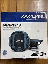 New listing Alpine Type E 12� Subwoofer Swe-1243