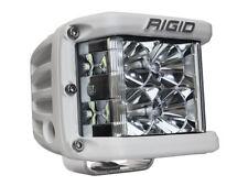 Rigid Industries D-SS Pro Flood Single LED Side Shooter White Finish 861113