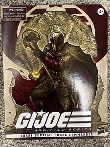 GI Joe Classified Series SNAKE SUPREME COBRA COMMANDER Hasbro Pulse Exclusive