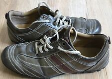 Bata Womens Shoes Size 7 Brown Flat Loafers Casual Dress Indoor Outdoor Lace Up