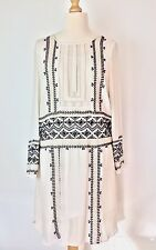BNWOT MONSOON Heavily Beaded Willow 20s Gatesby Flapper Style Dress Size 14
