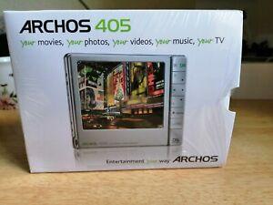 """Archos  405 2Gb Portable Media Player 3.5"""" Screen unused"""