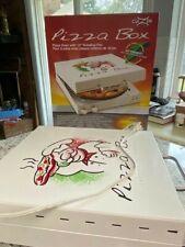 CuiZen Pizza Oven (Original Box w/Instructions & Recipes) Pre-Owned Piz-4012