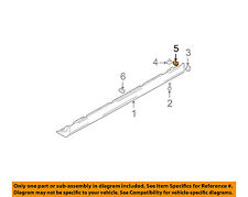 HYUNDAI OEM 02-05 XG350 Exterior-Rocker Molding Clip 8775637000