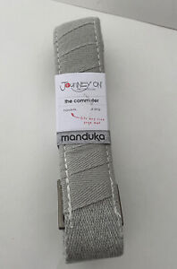 Manduka Journey On Collection The Commuter Hands Free Yoga Mat Sling 68x1.5 Gray