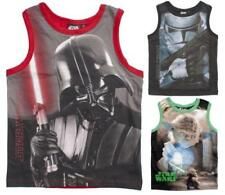 Vest Top Sleeve Graphic T-Shirts & Tops (2-16 Years) for Boys