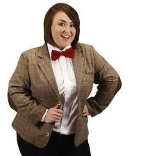 11th DOCTOR WHO Licensed WOMAN PLUS Size 20/22 Tweed JACKET Costume Prop REPLICA