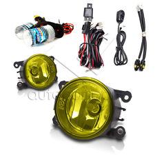 For 2005-2012 Nissan Pathfinder Fog Lights w/Wiring Kit & HID Kit - Yellow