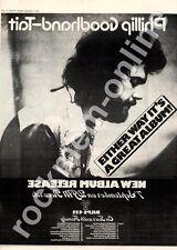 Philip-Goodhand Tait DJLPS 432 MM3 LP advert 1973