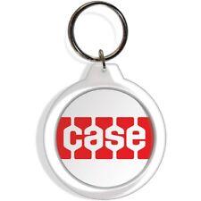 Case Garden Tractor Farm Lawn Rider Mower Keychain Key Ring red Part Gift