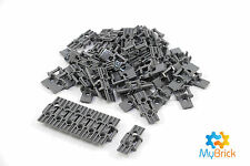 Lego Technic Dark Grey link Tread Wide with Two Pin Holes - 57518 x 50
