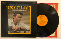 Waylon Jennings - Waylon - 1970 US 1st Press LSP-4260 (EX) Ultrasonic Clean