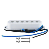 NEW White Alnico 5 Strat Style Electric Guitar Single Coil Pickup Middle Pickup