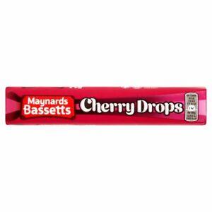 Maynards Bassetts Cherry Drops 18 Rolls of 45g - Best Before 02/09/21