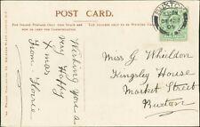 Miss G Whieldon. Kingsley House, Market Street, Buxton. 1905.  RM.322
