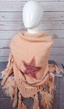 Markenlose Fransen Damen-Schals & -Tücher aus Baumwollmischung