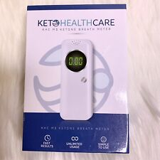 Keto Health Care KHC M3 Ketone Breath Meter NEW Fast Unlimited Usage Simple