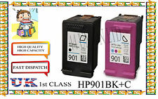 remanufactured 901BLACK & COLOR High Quality Cartridges for hp nonoriginal
