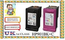 Ricostruiti 901black & Colore di elevata capacità e cartucce di qualità per stampante HP