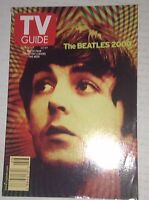 Tv Guide Magazine The Beatles November Cover #2 11-17, 2000 042417nonrh