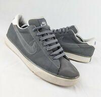 Nike Sweet Classic Grey Leather Trainer, Tennis, Retro SB BRS UK 9.5 EU 44.5