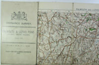 1909 OS Ordnance Survey one-inch Third Edition sheet 152 Falmouth & Lizard Point