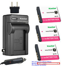 Kastar Battery AC Charger for Sony NP-FT1 FT1 & Sony Cyber-shot DSC-T5 Camera