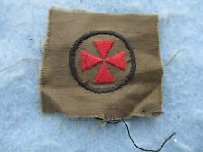 Wwi Imperial German Iron Cross Embroidered Patch Ww1