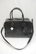 NWT COACH Men Crosby Leather Logo 24 Hour Bag #93204 Black