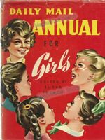 VINTAGE BOOK: DAILY MAIL ANNUAL FOR GIRLS (1950s)